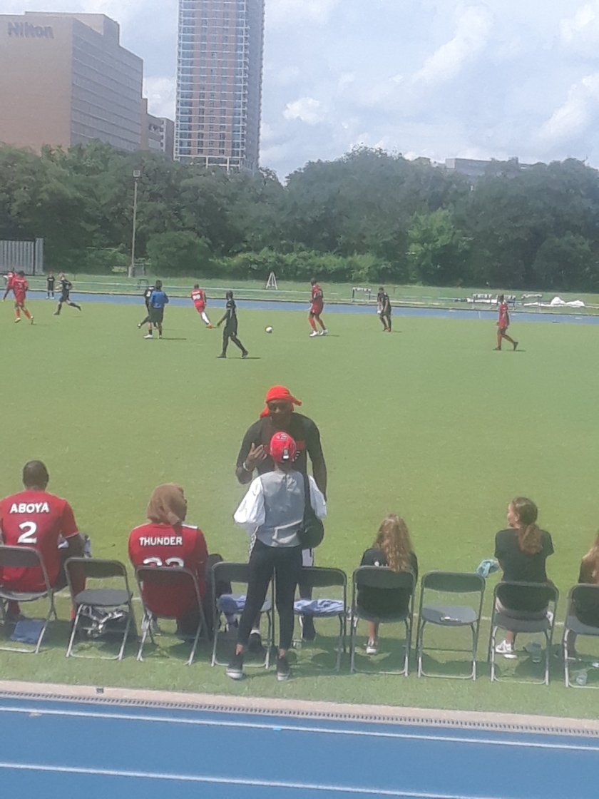Luc Mbah A Moute, Charity Event, Last Minutes, Soccer, Team Spirit
