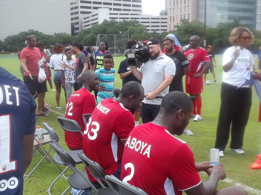 Luc Mbah A Moute, Soccer Charity Event, Soccer, Charity, Foundation, Education,